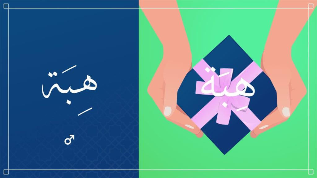 Hiba: Meaningful Islamic Baby Names